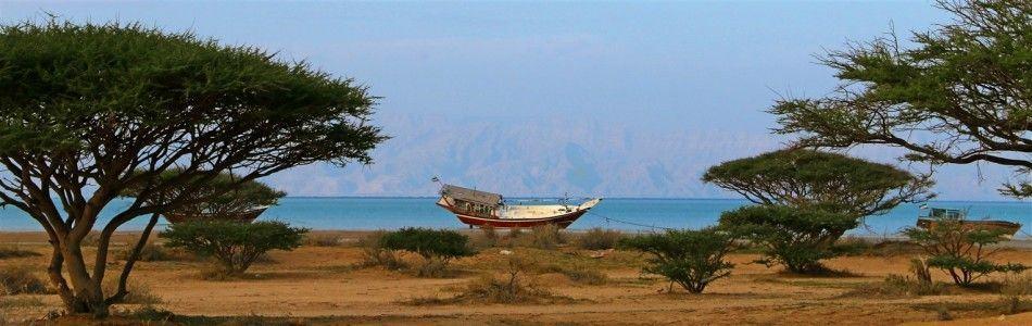 Silence of Qeshm Island