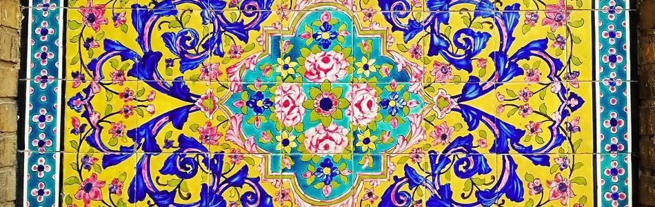 Painting at the Golestan Palace