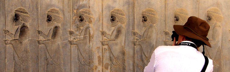 Sketching Persepolis and Necropolis