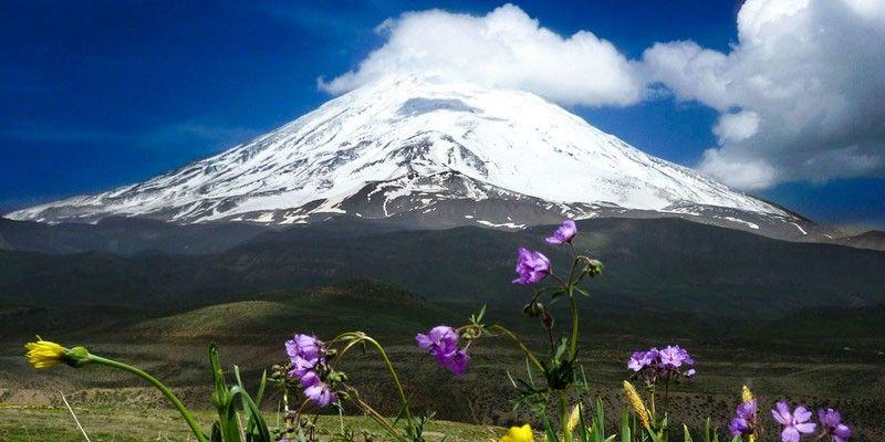 Mount Damavand: The highest peak in Iran and the Midle East