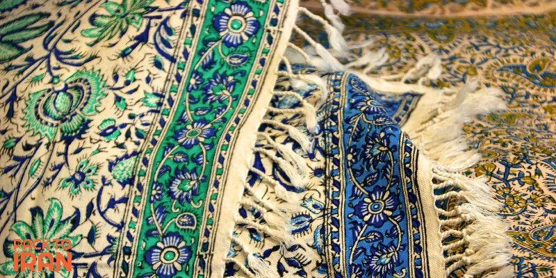 Ghalamkar - Hand printed Iranian textile