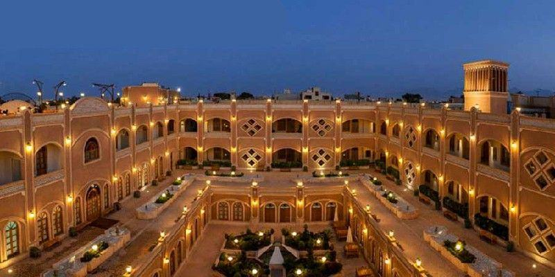 The top 5-star and 4-star hotels of Yazd