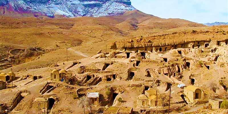 Meymand Village - The UNESCO listed village of Iran