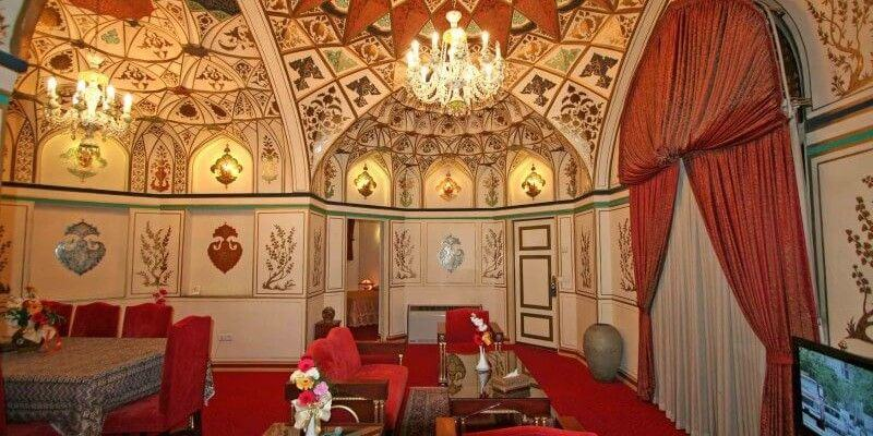 Isfahan Abbasi Hotel - one of the best hotels in Iran