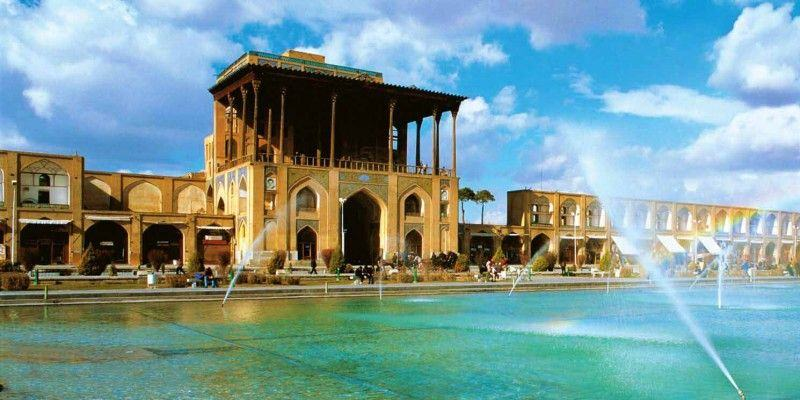 The glorious Ali Qapu Palace of Isfahan