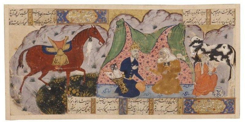 Persian Miniature - UNESCO World Heritage