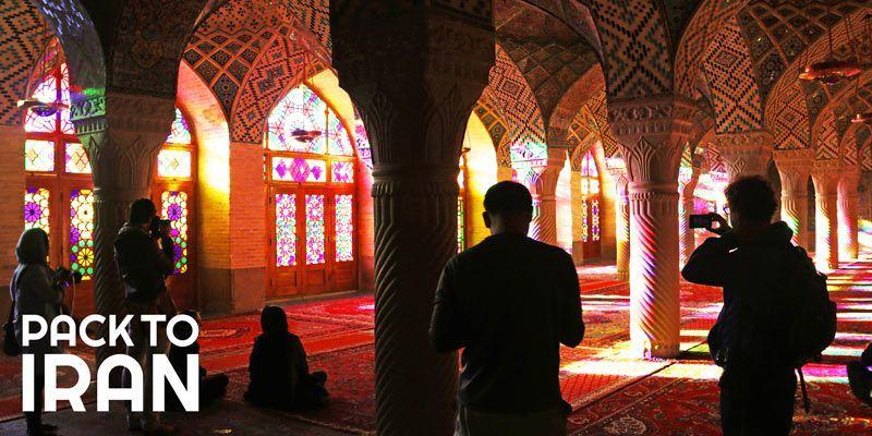 The Nasir al Mulk Mosque of Shiraz (Pink Mosque)