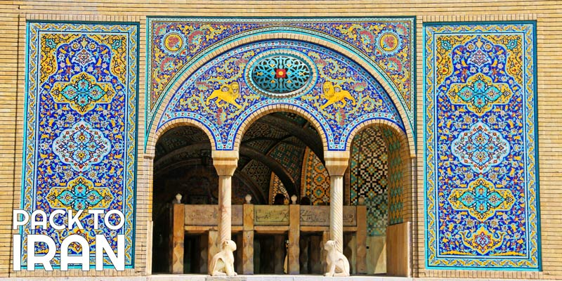 Visiting the Golestan Palace in Tehran
