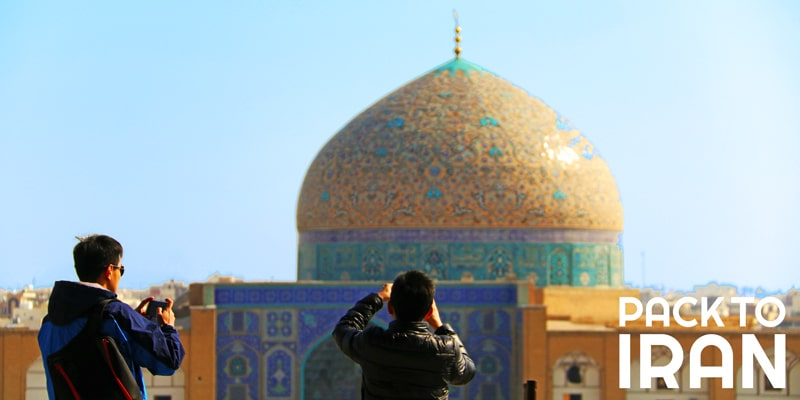 The charming Sheikh Lotfollah Mosque of Isfahan
