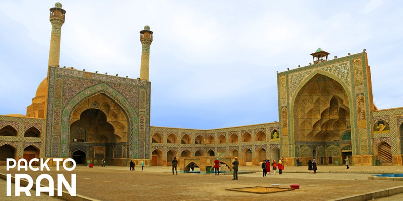 The Jaame Mosque of Isfahan - A mosque you shouldn't miss