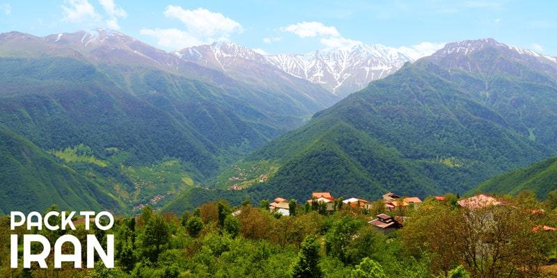 Top 6 summer destinations in Iran