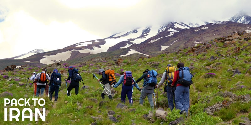 Climbing the Mount Damavand with PackToIran