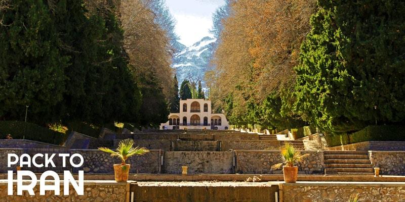 The Shazdeh Garden - an oasis in desert