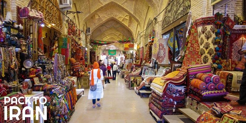 The Nostalgic Vakil Bazaar of Shiraz